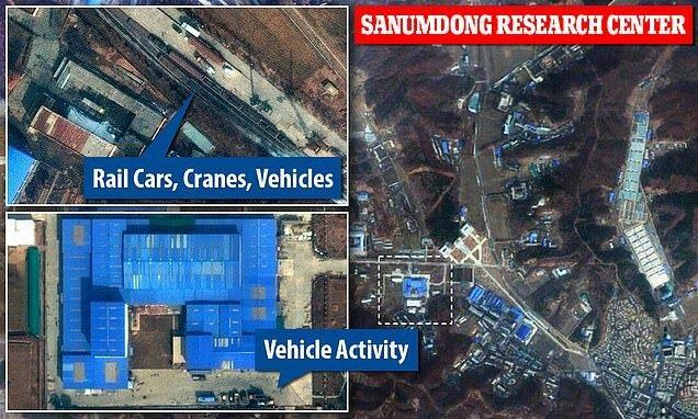 تصاویر ماهواره ای حاکی از فعالیت در تاسیسات موشکی کره شمالی است