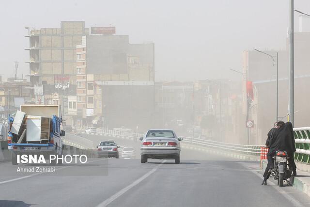 اطلاعیه سازمان هواشناسی در پی وزش باد شدید در بعضی مناطق کشور