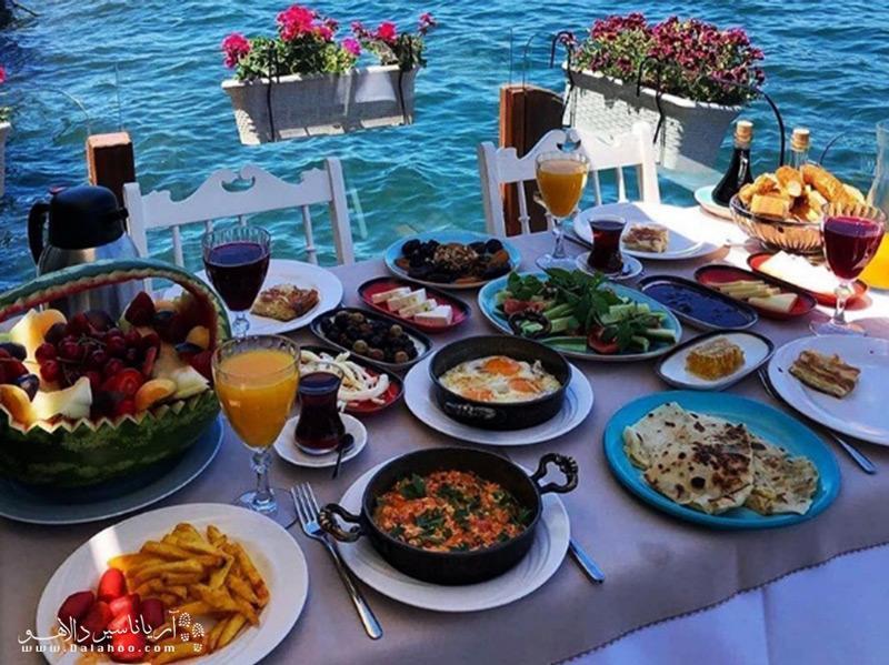 صبحانه های خوشمزه ترکی